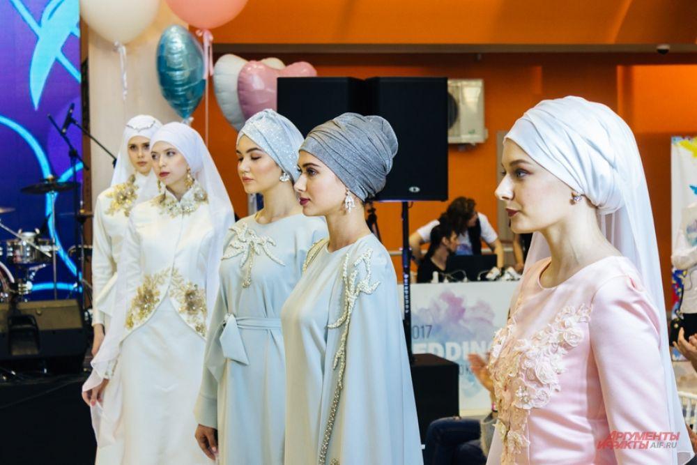 Платок - непременный атрибут на мусульманской свадьбе. Его может заменить тюрбан.