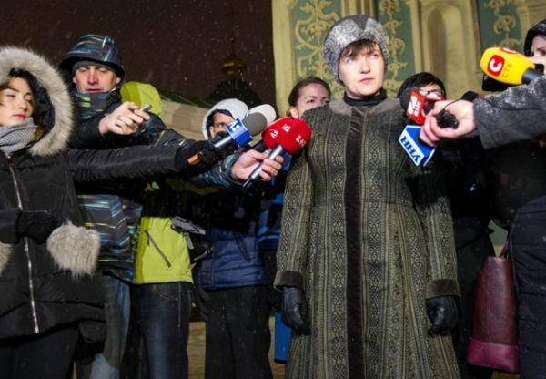 Одним из самых обсуждаемых стал выход Надежда Савченко в образе, который сильно напоминал одежду гетманов