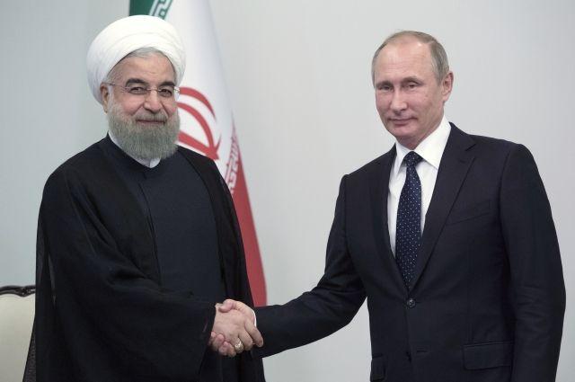 Путин встретится сглавой Ирана Хасаном Рухани