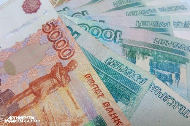 У калининградки украли рюкзак с полумиллионом рублей.