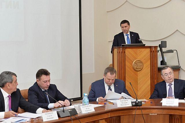 Губернатор ЯНАО выступил с докладом о научных исследованиях в округе