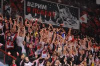 Омские болельщики всё ещё верят в команду.