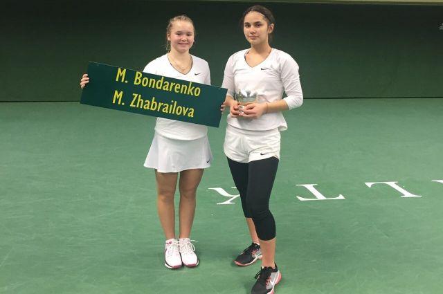 Милана Жабраилова выиграла международный турнир потеннису впарном разряде