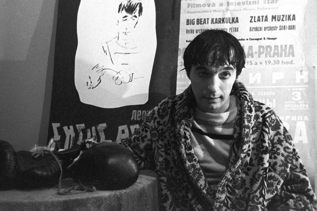 Леонид Енгибаров. 1966 год.