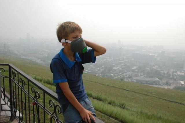 Участники митинга вКрасноярске хотят требовать чистого неба