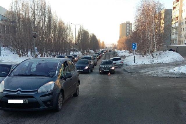 В Оренбурге автомобиль «ЛАДА» сбил 13-летнего школьника