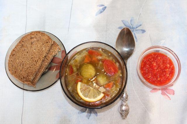 Из постных блюд можно составить полноценный обед.