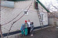 Новый дом для погорельцев был куплен на средства благотворительного фонда.