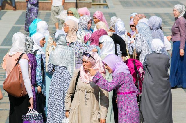 Арабские женщины не чувствуют себя ущемленными.