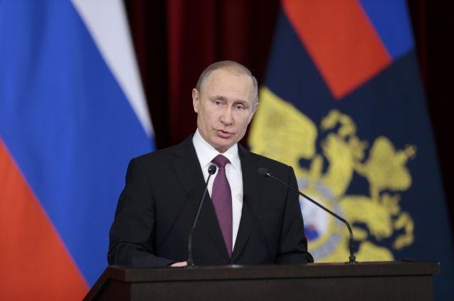 Генпрокуратура должна оставаться оком государства— Путин