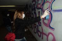 В Казани иногда можно встретить неонацисткие лозунги на стенах