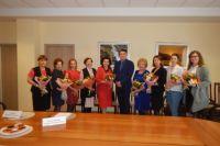 Президент ТПП ХМАО-Югры и члены Комитета по делам женщин-предпринимателей.
