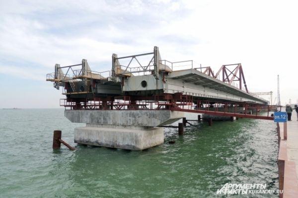 Сроки сдачи Керченского моста - 2018 год.