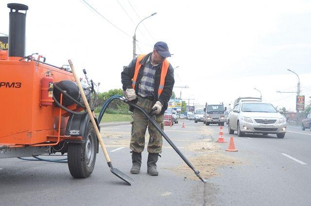 55 млн руб. истратят вКирове нааварийный ремонт дорог