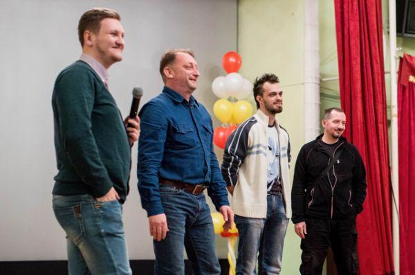 Также усть-ордынцы встретились с создателями и героями короткометражного фильма «Ночевка».