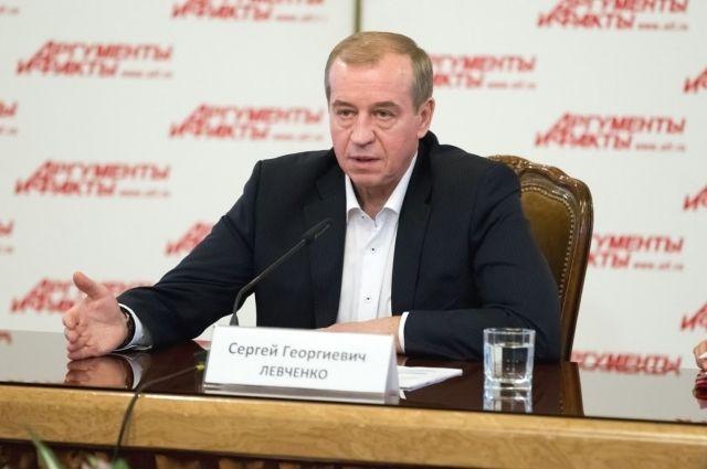 Губернатор Приангарья Сергей Левченко.