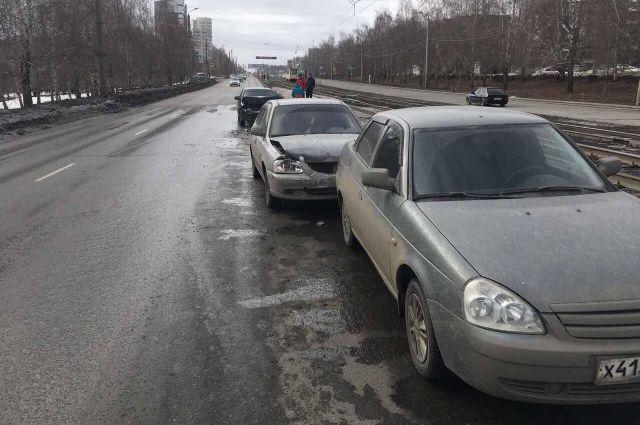 10-месячный ребенок получил травму головы вДТП вЧелябинске