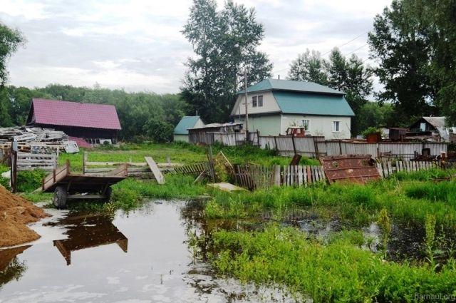 В Барнауле ведется активная подготовка к паводку