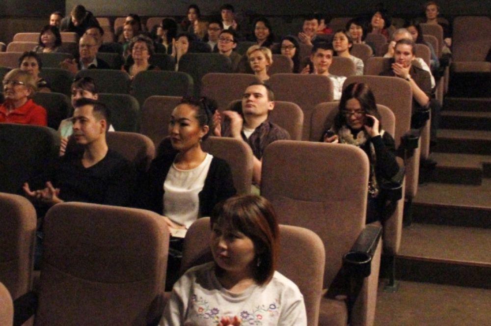Зрители на показе в Доме кино.