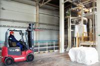 На площадке АО «НикоМаг» производство ведётся безопасным способом.