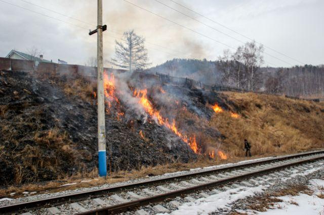 ВИркутской области ввели особый противопожарный режим