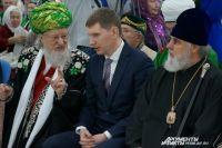 На открытии «Мусульманского мира» побывали глава региона Максим Решетников и Верховный муфтий России Талгат Таджуддин.