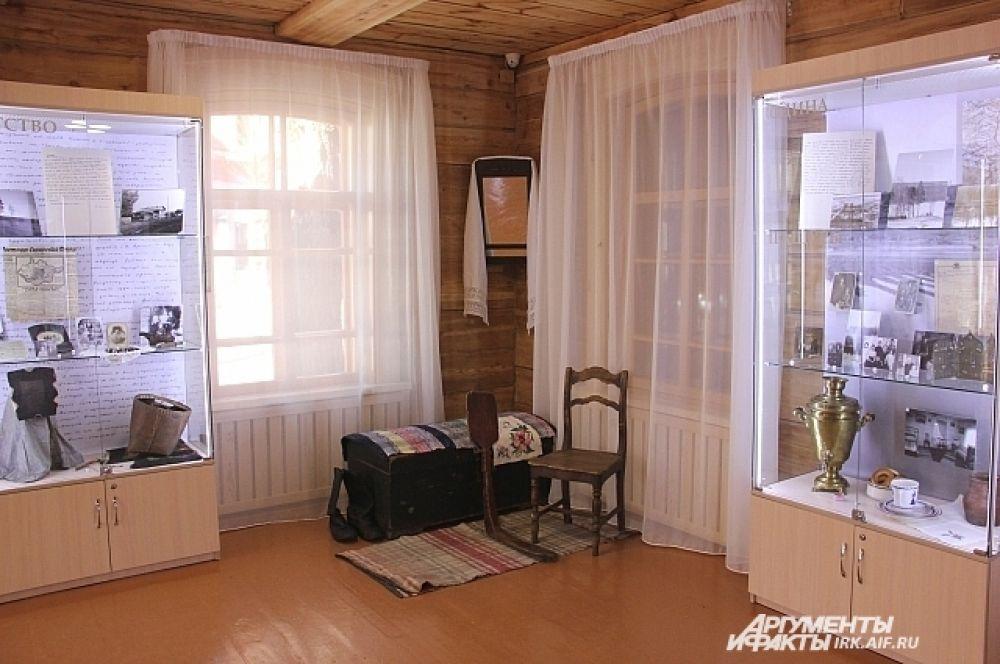 Выставка «Откуда есть пошли мой книги»  рассказывает в том числе и о родном доме Валентина Распутина.