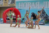 Иркутские гимнастки часто отличаются на соревнованиях.