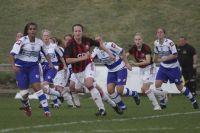 Женский футбол — это искренность, самоотдача и непредсказуемость.
