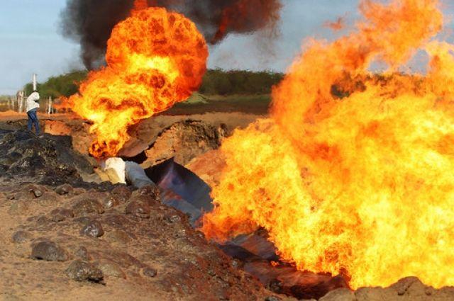 ВДонецкой области нагазопроводе произошел взрыв