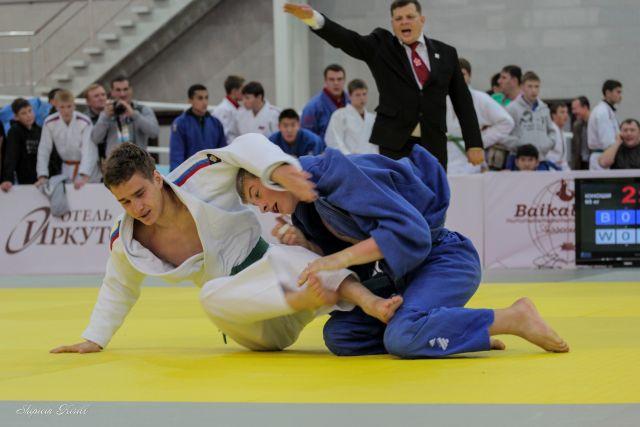 Соревнования по дзюдо в Иркутске.