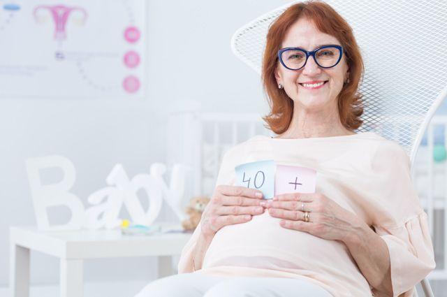 Поздняя беременность смотреть
