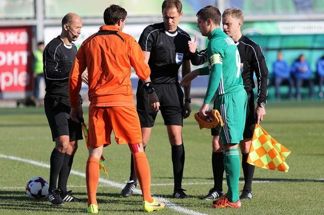 Мешков отстранён отобслуживания матча «Урал»— «Рубин»