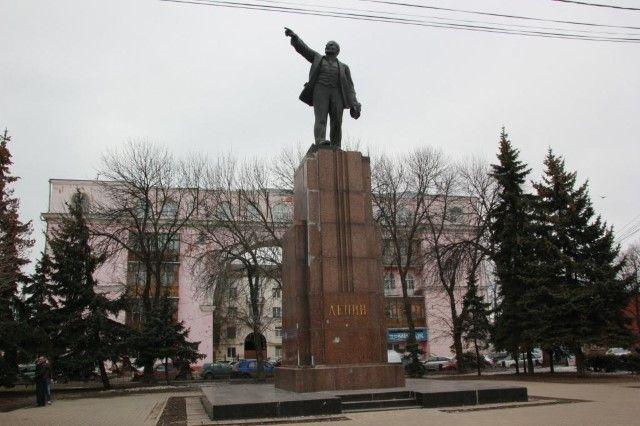ВЯрославле наКрасной площади благоустроят территорию вокруг монумента Ленину