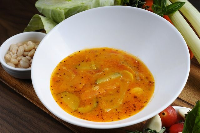 Постный суп не навредит фигуре.