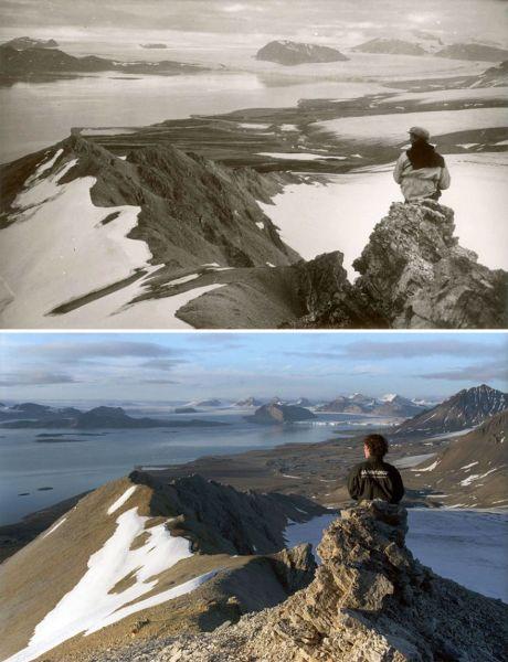 Ранее ледники покрывали большую часть территории