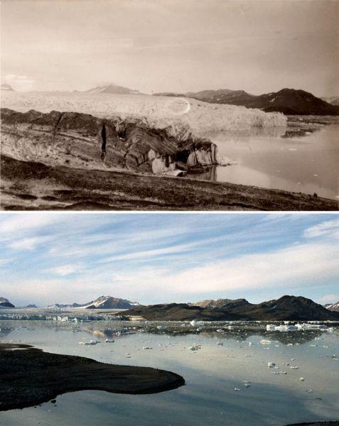 Большинство ледников уже растаяло