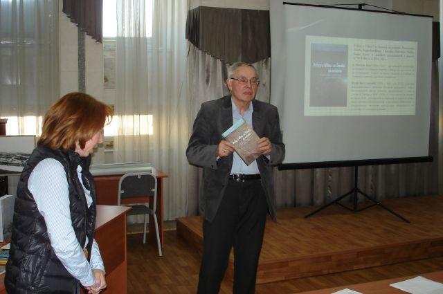 Профессор Веслав Цабан рассказал о книге «Поляк в царском мундире»