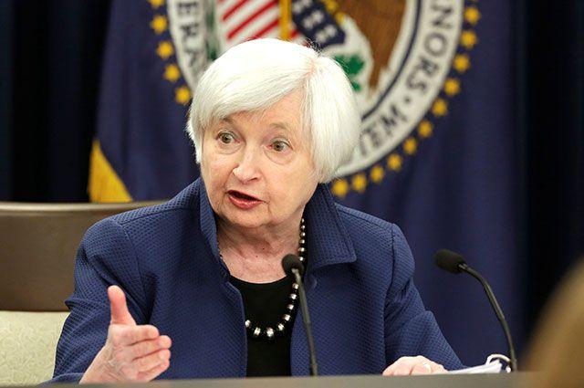 Глава ФРС Джанет Йеллен.