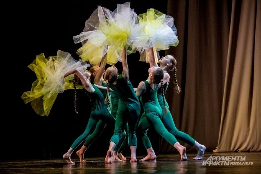Пермские танцоры представили композицию «Из солнц в луны».