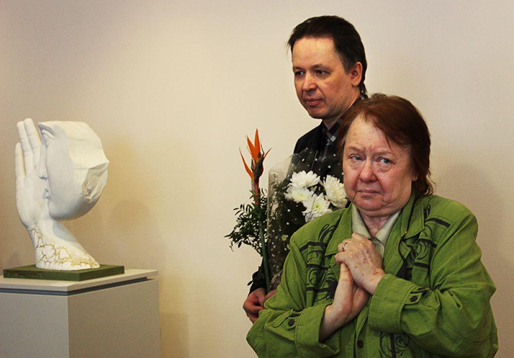 Директор музея Елена Сергеева признесла проникновенную речь