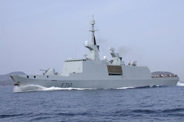 В Черное море вошел ракетный корабль-невидимка ВМС Франции