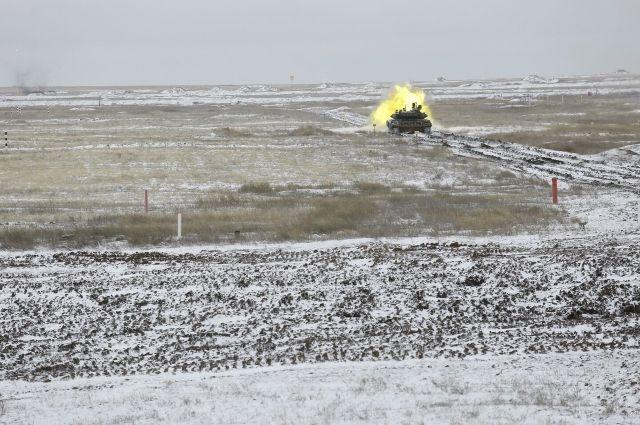 В Оренбуржье на Тоцком полигоне завершились тактические учения мотострелков