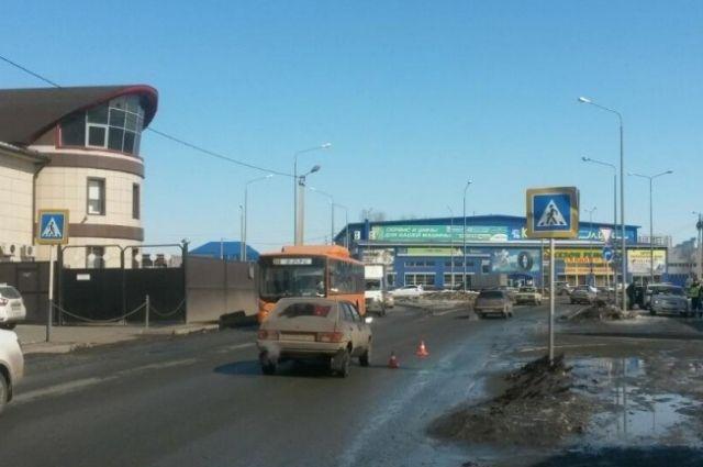В Оренбурге водитель «ГАЗа» сбил пешехода