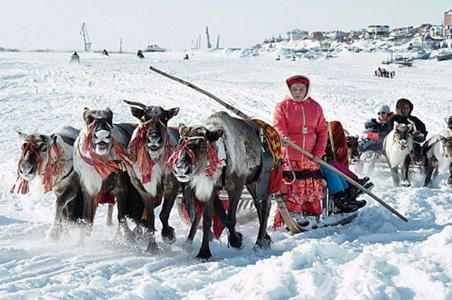 В самой маленькой деревне Ямала - Ханты-Мужи проживает всего 2 человека.
