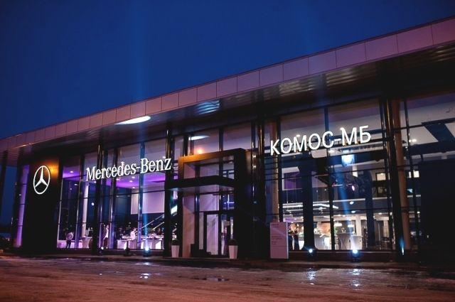 К марке Mercedes-Benz в Ижевске большой интерес.