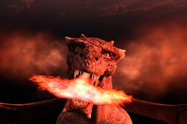 Многие любят разговаривать с красными драконами во сне
