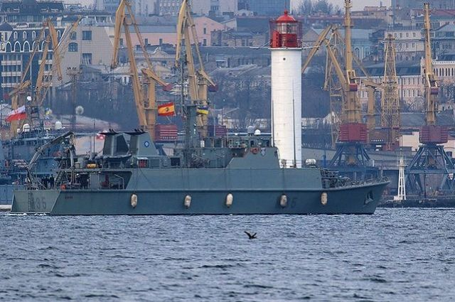 Судна входят в состав постоянной военно-морской противоминной группы НАТО №2 (SNMCMG2)