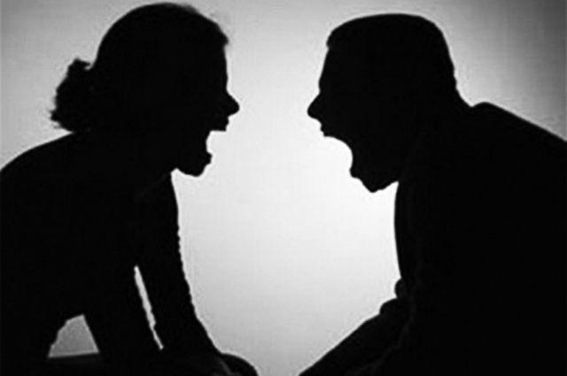 Бывшие супруги поссорились из-за прошлых обид.