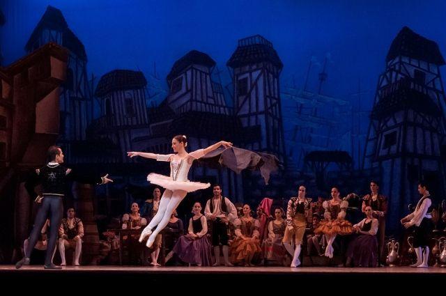 Балет был написан по роману Мигеля Сервантеса «Хитроумный идальго Дон Кихот Ламанчский».